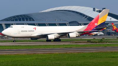 HL7420 - Boeing 747-48EF(SCD) - Asiana Cargo