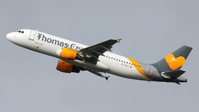 EC-MVG - Airbus A320-212 - Thomas Cook Airlines Balearics
