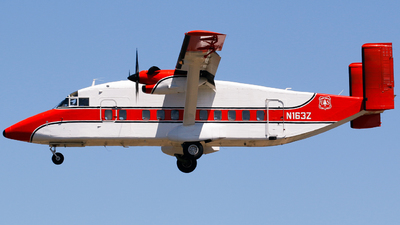 A picture of N163Z - Short SD360 Sherpa - [SH3414] - © Alec Mollenhauer