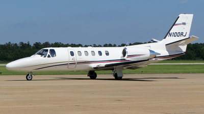 N100RJ - Cessna 550B Citation Bravo - Private