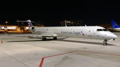 A picture of N591NN - Mitsubishi CRJ900LR - American Airlines - © Craig L Baldwin