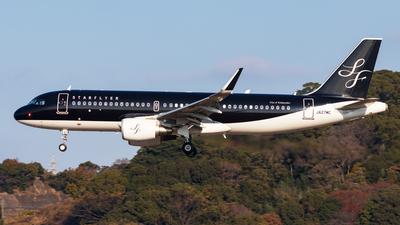 JA27MC - Airbus A320-214 - Starflyer