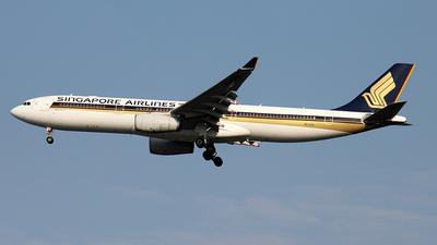 9V-STD - Airbus A330-343 - Singapore Airlines