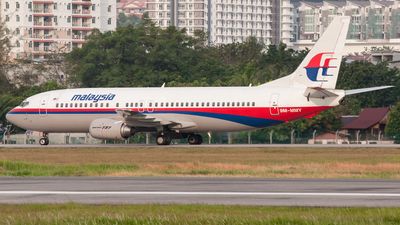9M-MMY - Boeing 737-4H6 - Malaysia Airlines