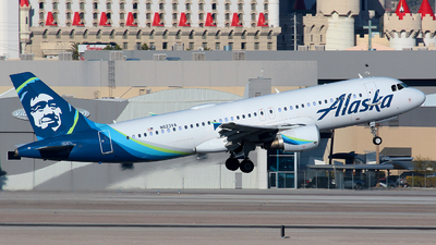A picture of N623VA - Airbus A320214 - Alaska Airlines - © Angel Natal