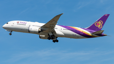 HS-TQB - Boeing 787-8 Dreamliner - Thai Airways International