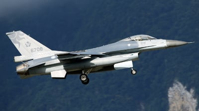 6708 - General Dynamics F-16A Fighting Falcon - Taiwan - Air Force