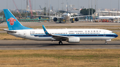 A picture of B5192 - Boeing 73781B - China Southern Airlines - © miCHAel TAN