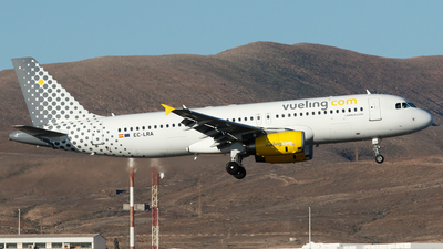 EC-LRA - Airbus A320-232 - Vueling Airlines
