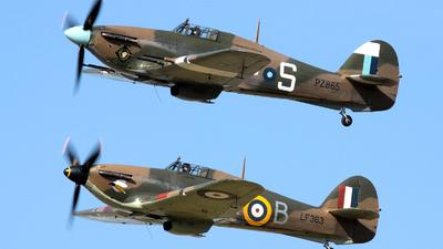 PZ865 - Hawker Hurricane Mk.IIC - United Kingdom - Battle of Britain Memorial Flight (BBMF)