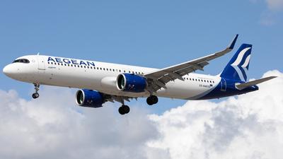 SX-NAB - Airbus A321-271NX - Aegean Airlines