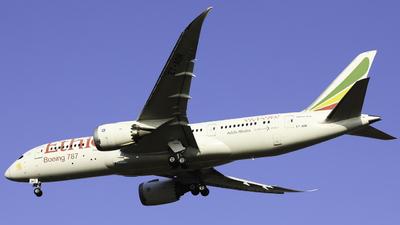 A picture of ETAOR - Boeing 7878 Dreamliner - Ethiopian Airlines - © Spark Liu