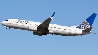 N76514 - Boeing 737-824 - United Airlines