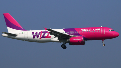 HA-LPN - Airbus A320-232 - Wizz Air