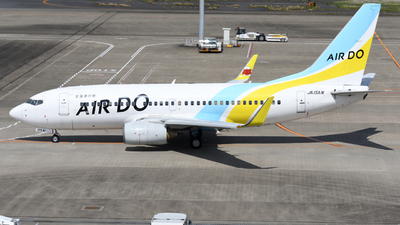 A picture of JA15AN - Boeing 737781 - Air Do - © HIroki Manabe