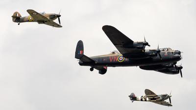 PA474 - Avro Lancaster [] - Flightradar24