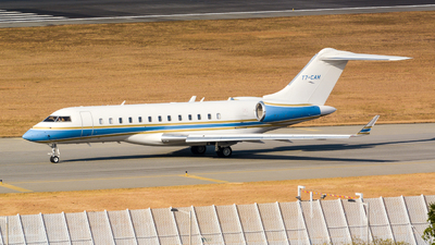T7-CAM - Bombardier BD-700-1A10 Global 6000 - Private