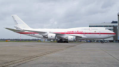 CN-MBH - Boeing 747-48E(M) - Morocco - Government