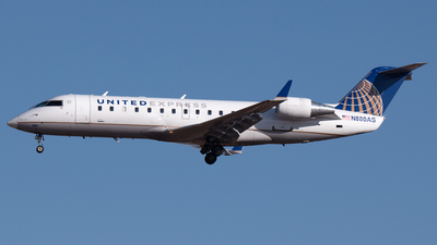 A picture of N880AS - Mitsubishi CRJ200LR - United Airlines - © PAUL LINK