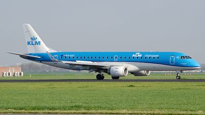 A picture of PHEZS - Embraer E190STD - KLM - © Paul Stam