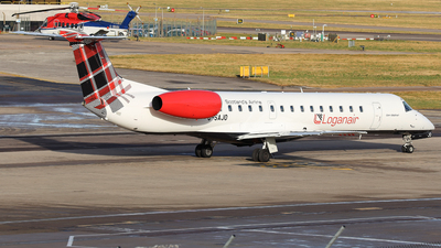 G-SAJO - Embraer ERJ-145MP - Loganair