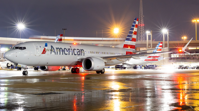 A picture of N303RE - Boeing 737 MAX 8 - American Airlines - © Dayon W