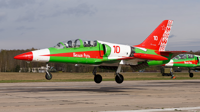 10 - Aero L-39C Albatros - Belarus - Air Force