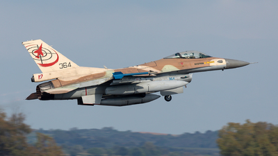 364 - General Dynamics F-16C Barak   - Israel - Air Force