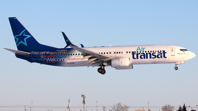 A picture of CGTQF - Boeing 7378Q8 - [29369] - © YoungKyun Shin