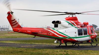 JA119J - Bell 412EP - Japan - Sendai City Fire Bureau