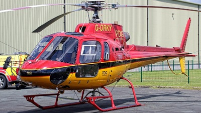 G-ORKY - Aérospatiale AS 350B2 Ecureuil - PDG Helicopters