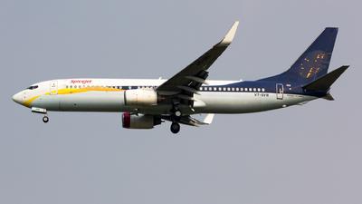VT-SYB - Boeing 737-85R - SpiceJet