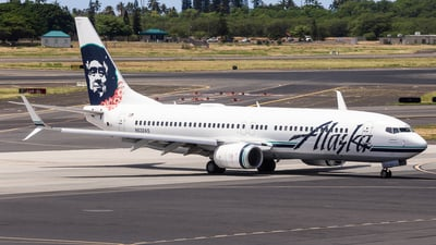 N532AS - Boeing 737-890 - Alaska Airlines