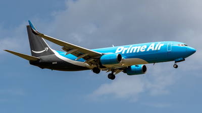 N8011A - Boeing 737-84P(BCF) - Amazon Prime Air (Sun Country Airlines)