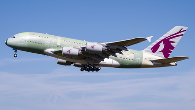 A picture of FWWAO - Airbus A380 - Airbus - © Milan Cibulka