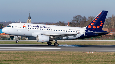 OO-SSH - Airbus A319-112 - Brussels Airlines