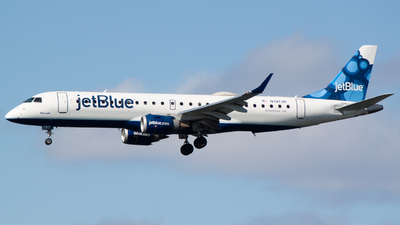 A picture of N187JB - Embraer E190AR - JetBlue Airways - © Ben Underhill
