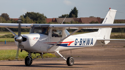 G-BHWA - Reims-Cessna F152 - Doncaster Sheffield Flight Training