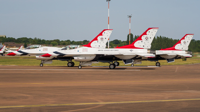 92-3881 - General Dynamics F-16C Fighting Falcon - United States - US Air Force (USAF)