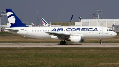 F-HDMF - Airbus A320-214 - Air Corsica