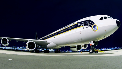 60204 - Airbus A340-541 - Thailand - Royal Thai Air Force