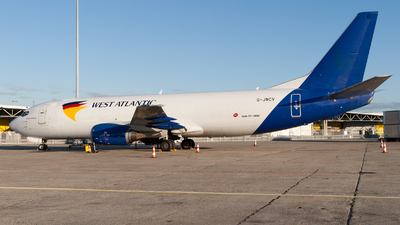 G-JMCV - Boeing 737-4K5(SF) - West Atlantic Airlines