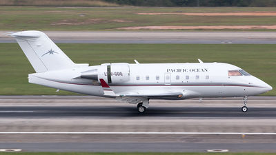 LV-GDQ - Bombardier CL-600-2B16 Challenger 601-3A - Pacific Ocean Private Flights