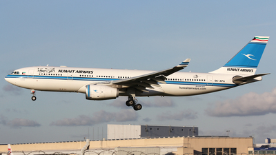 9K-APA - Airbus A330-243 - Kuwait Airways