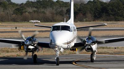 N524CV - Beechcraft C90GTi King Air - Private
