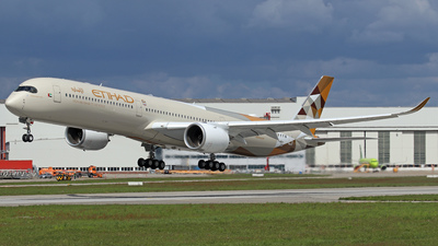 F-WZNI - Airbus A350-1041 - Etihad Airways