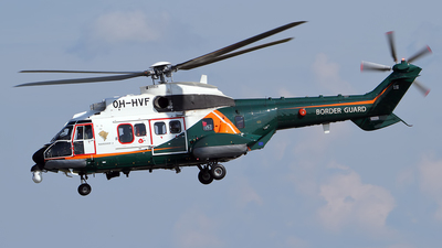 OH-HVF - Eurocopter AS 332L Super Puma - Finland - Frontier Guard