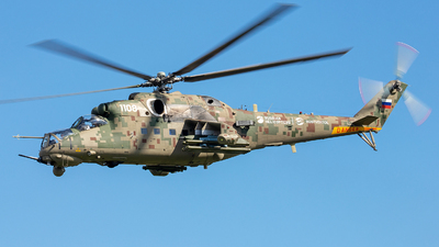 1108 - Mil Mi-35P Hind - Russia - Air Force