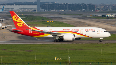 A picture of B2750 - Boeing 7878 Dreamliner - Hainan Airlines - © Zongzha_Kaiguan
