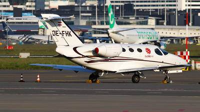 OE-FHK - Cessna 510 Citation Mustang - GlobeAir